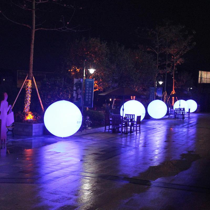 Professional Lighting Inflatable Balloon Custom