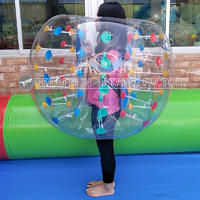 Inflatable Bumper Bubble Soccer Ball Dia  3.9 ft human hamster ball